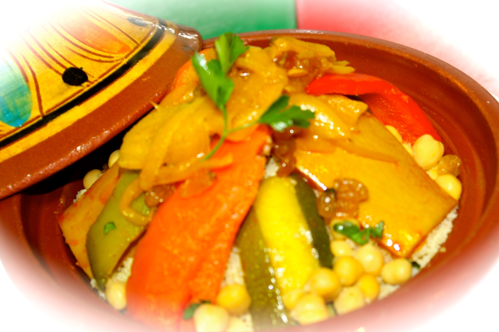 Couscous vlees & groente